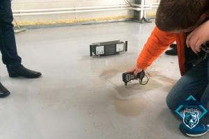 Поиск арматуры в бетоне